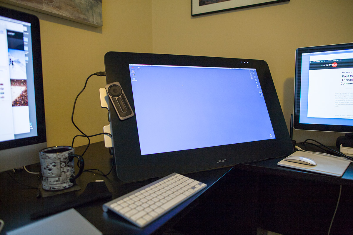 Cintiq 27 QHD with stand
