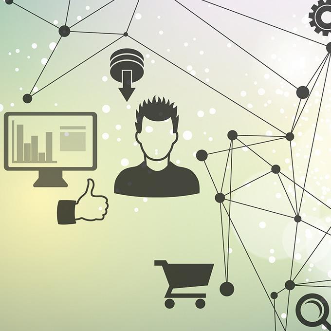 Connection Microstock illustration
