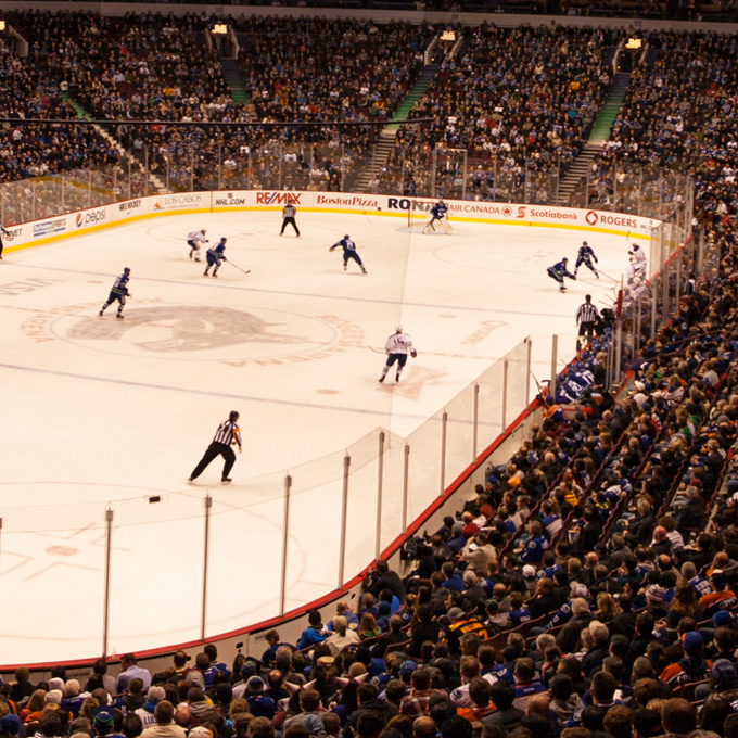 Vancouver Canucks Hockey Game