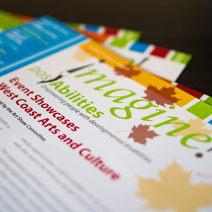 Graphic Design and Print for posAbilities Newsletters