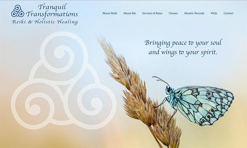 Tranquil Transformations Home page